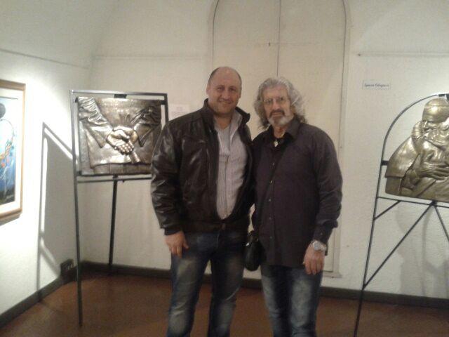 Luigino con Ignazio