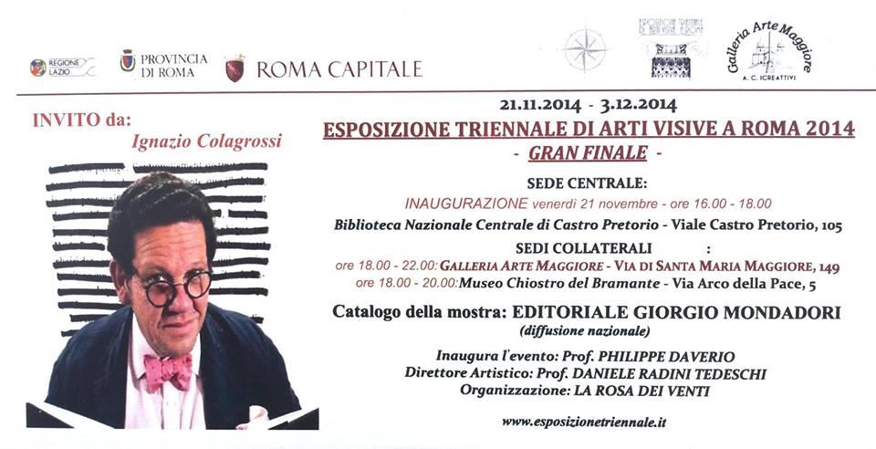 _ a invito triennale Roma 2014
