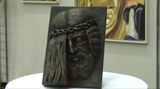 Volto di Cristo di Ignazio Colagrossi - Vienna