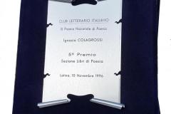 10 novembre 1996 targa