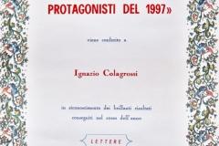 10 gennaio1998 premio i Leaders - attestato