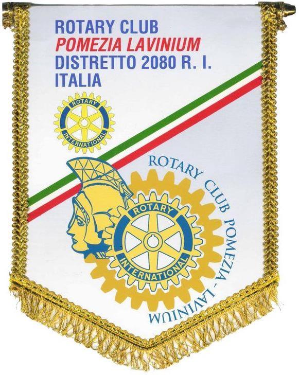 logo gagliardetto Rotary Pomezia Lavinium