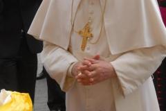 f.4 ben. Santo Padre VOLTO di CRISTO artista Ignazio Colagrossi udienza 14 aprile 2010