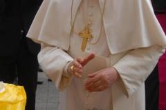 f.6 ben. Santo Padre VOLTO di CRISTO artista Ignazio Colagrossi udienza 14 aprile 2010