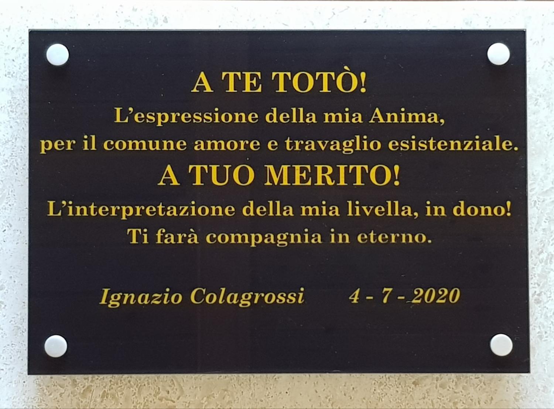 Targa-Toto-a-Livella