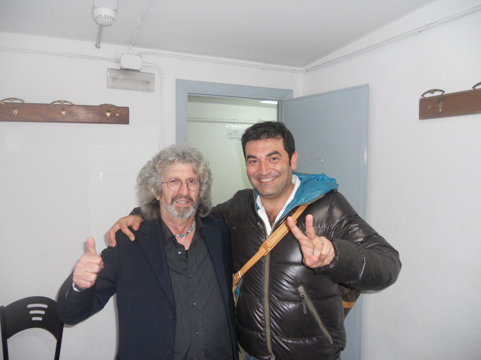 Ignazio con Max Giusti