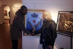 metamorfosi galleria agostiniana - Con amico di Africa - Copia