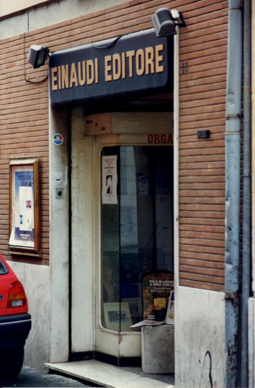 1996 personale pittura e letteratura - Libreria Einaudi - Palestrina 4
