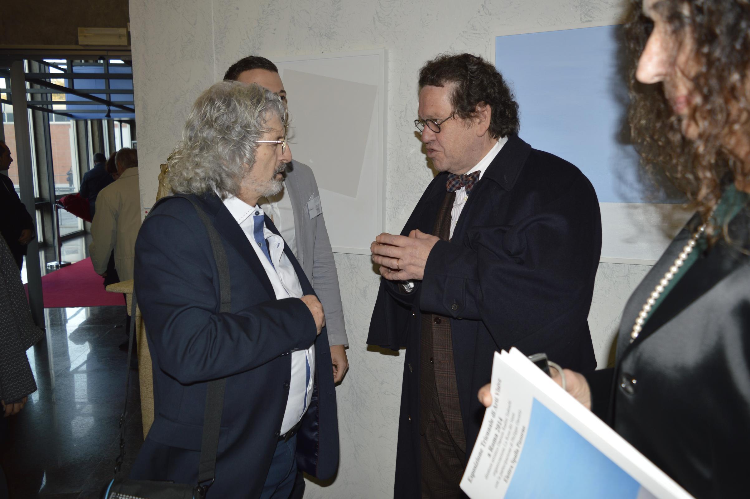 _con il Prof. Philippe Daverio